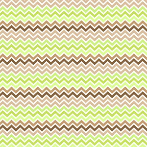 Chevron Lime Chocolate