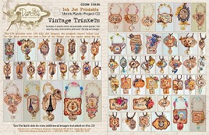 Vintage Trinkets Shrink Plastic Project CD