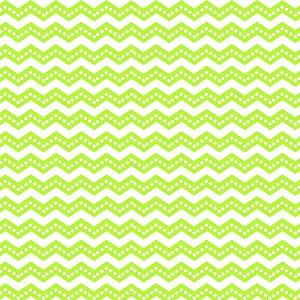 Lime Dotted Chevron